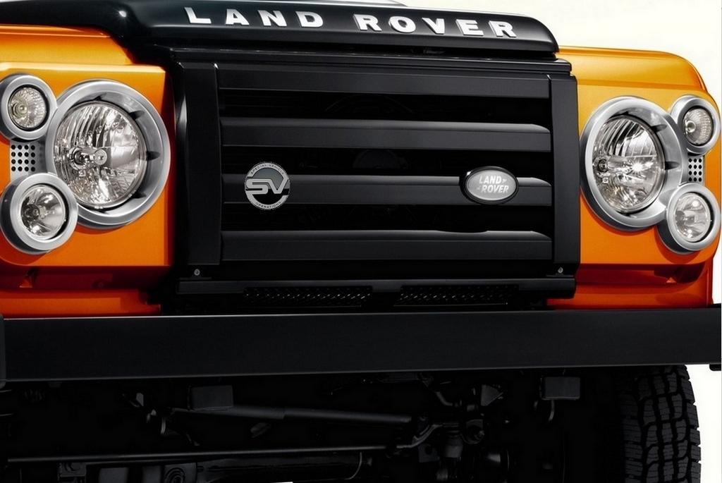 land rover defender une derni re version svo avant le d part la retraite blog automobile. Black Bedroom Furniture Sets. Home Design Ideas
