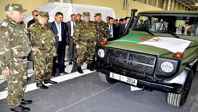 Mercedes Benz fabrique en Algérie -  credit photo Allégrie Presse Service com