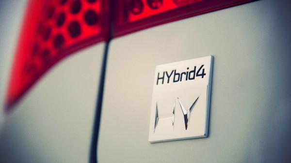 Peugeot logo hybrid4