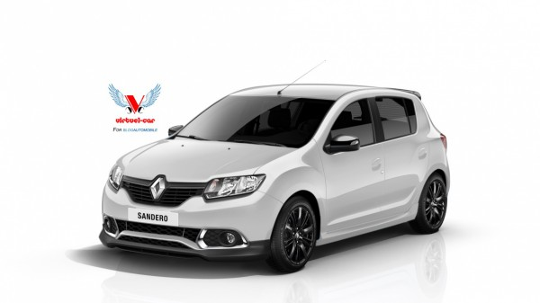 Renault-Sandero-Sport-Blanche Avant