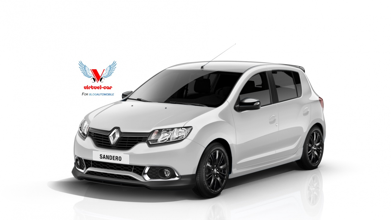 renault la sandero rs ou gt ou sport en approche blog automobile. Black Bedroom Furniture Sets. Home Design Ideas