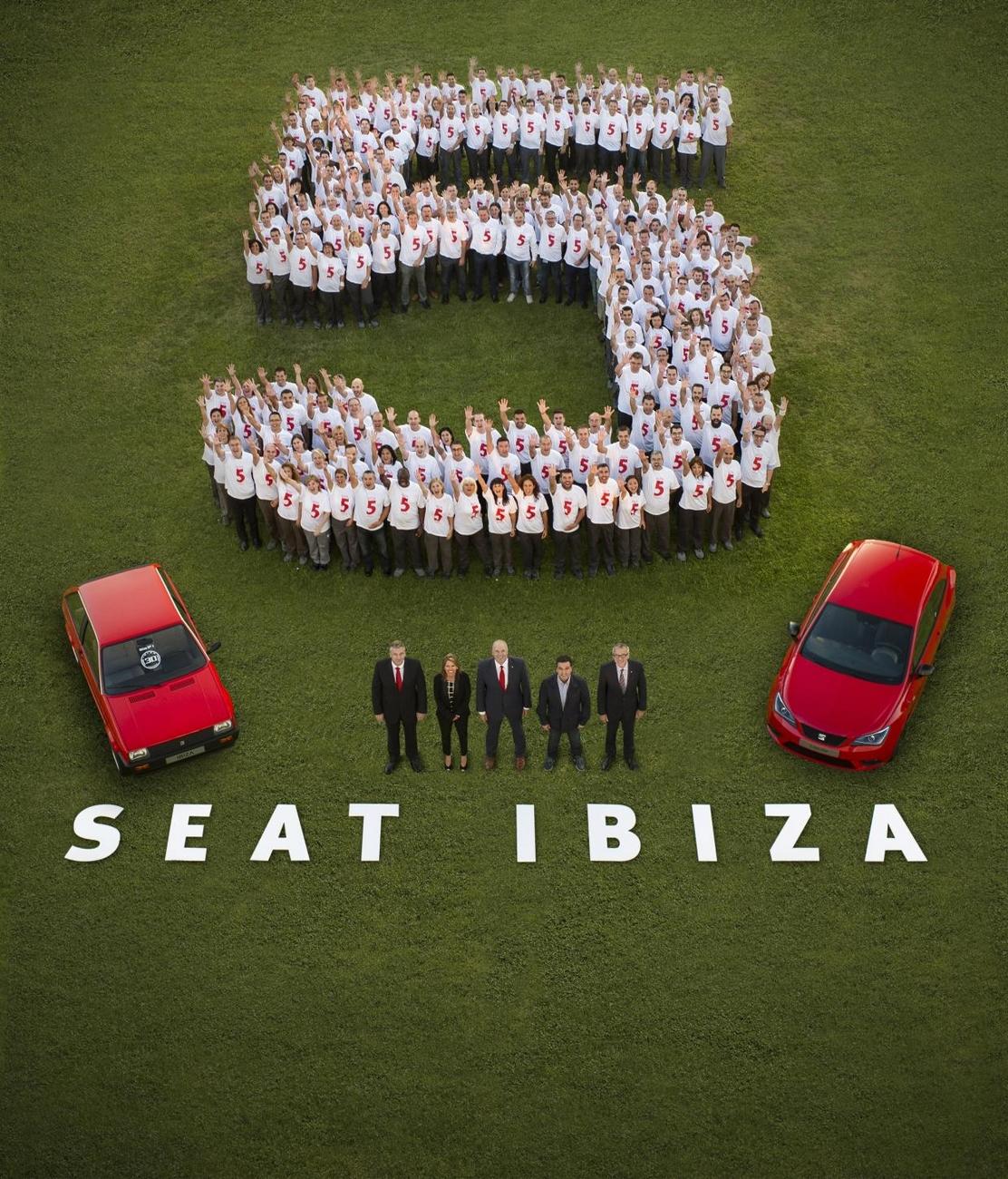 Seat - 5 millions d'Ibiza