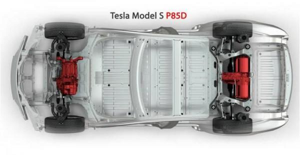 Tesla mode S P85D.3