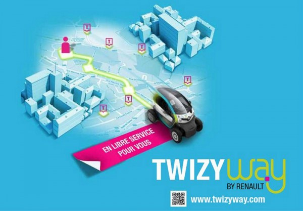 Twizy Way by Renault & Keymoov c'est fini