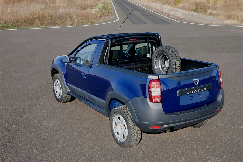 dacia le duster pick up r v l en roumanie blog automobile. Black Bedroom Furniture Sets. Home Design Ideas