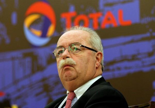 deces de C de Margerie , patron de Total  photo par  A.Rudakov pour Bloomberg