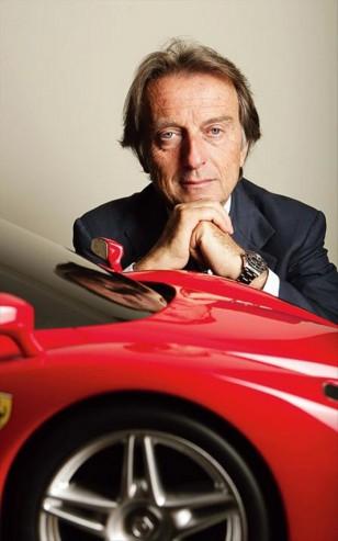 montezemolo et Ferrari enzo