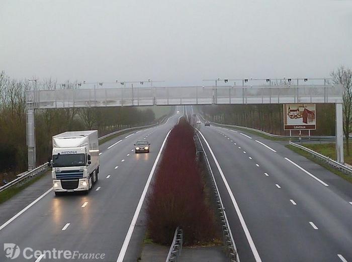 portail écotaxe -autoroute-poids lourd