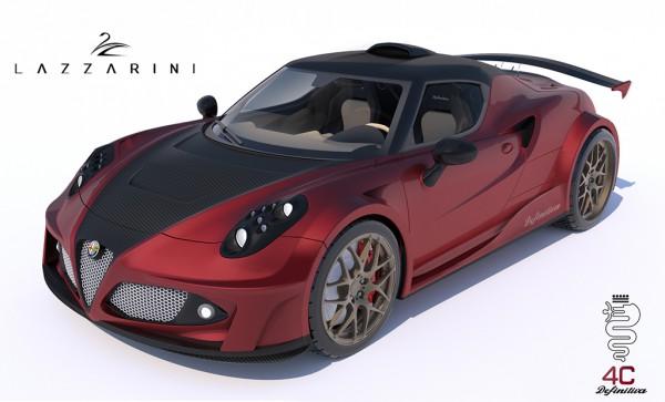 Alfa Romeo 4C Definitiva par LAZZARINI DESIGN.0
