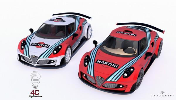 Alfa Romeo 4C Definitiva par LAZZARINI DESIGN.10