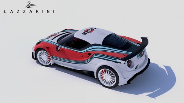 Alfa Romeo 4C Definitiva par LAZZARINI DESIGN.9