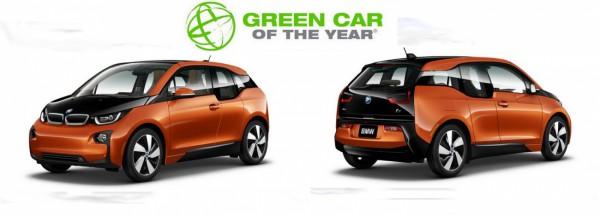 BMW i3 - Voiture verte de l'année au Salon de Los Angeles