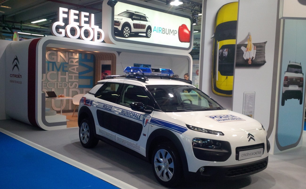 """Citroën : La C4 Cactus """"Police Municipale"""" révélée - Blog ..."""