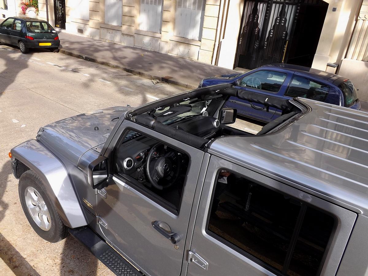 Essai Jeep Wrangler 2 8 Crd Unlimited Le Roi De La