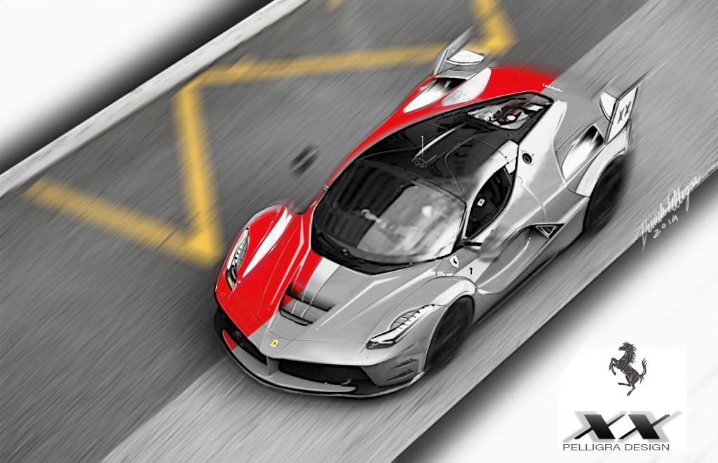 Ferrari LaFerrariXX par Daniele Pelligra