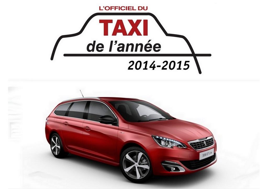 La Peugeot 308 SW élue Taxi de l'année