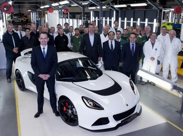 Lotus - et de 1000 Exige S