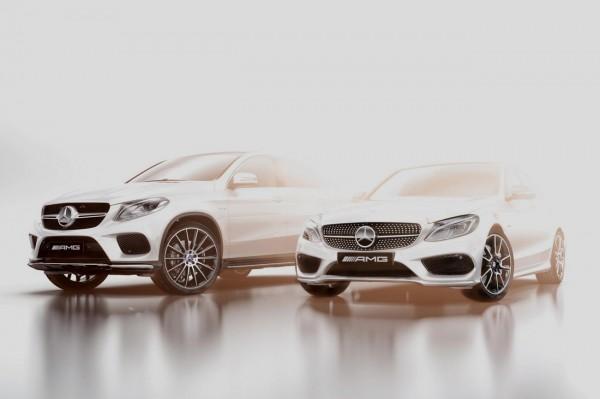 Mercedes Benz lance la gamme AMG Sport