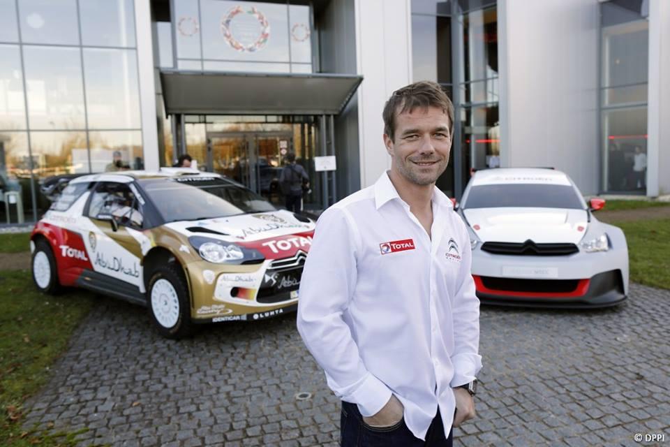 Sebastien Loeb de retour en WRC avec Daniel Elena et la DS3