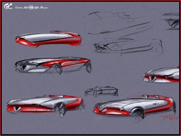 Alfa Romeo Vision Gran Turismo Project