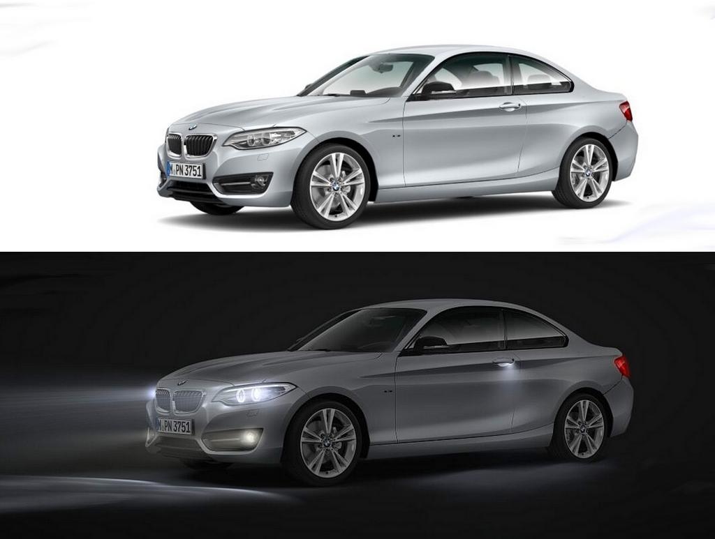 BMW Serie 2 Coupé 218i et 220d xDrive 2015
