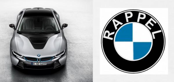 BMW rappelle les i8
