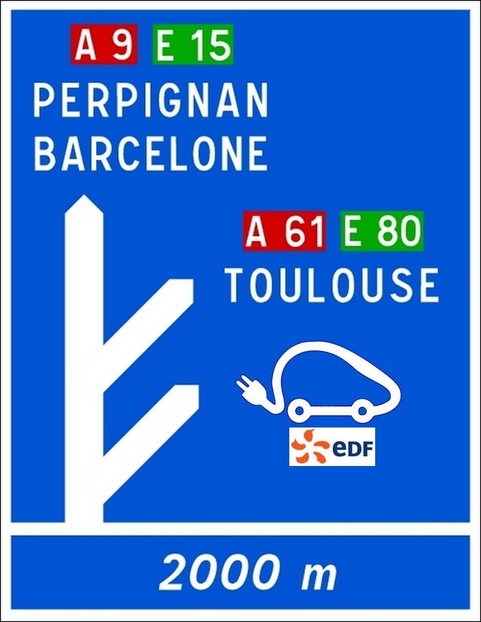 EDF s'installe sur les autoroutes