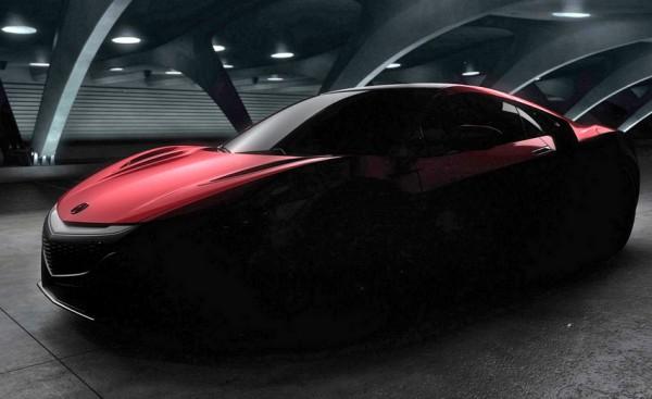 Honda-Acura NSX 2016 teaser