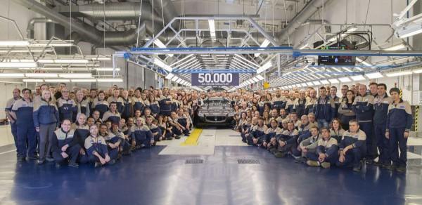 Maserati 50.000 unités en moins de 2 ans à Grugliasco.2