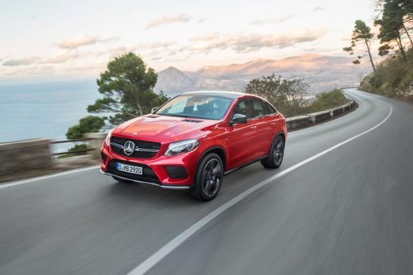 Mercedes Benz GLE Coupé 2015