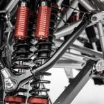 Peugeot 2008 DKR suspension