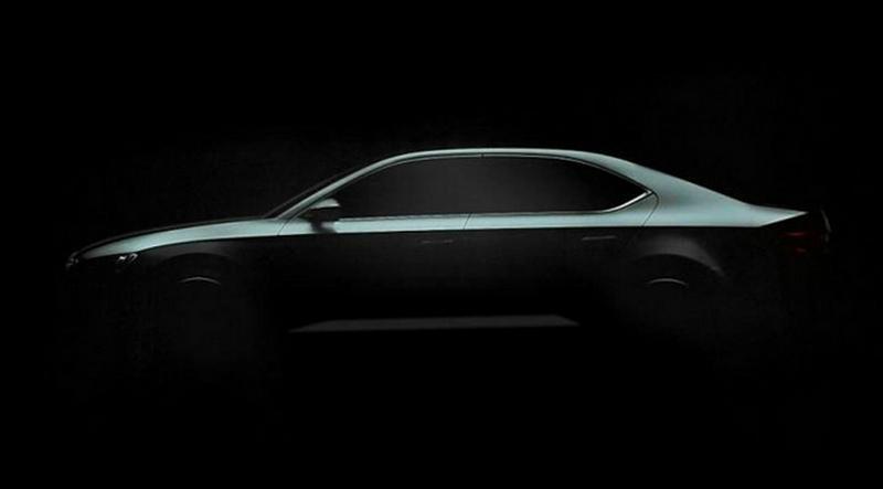 Skoda Superb Mk3 2015 teaser
