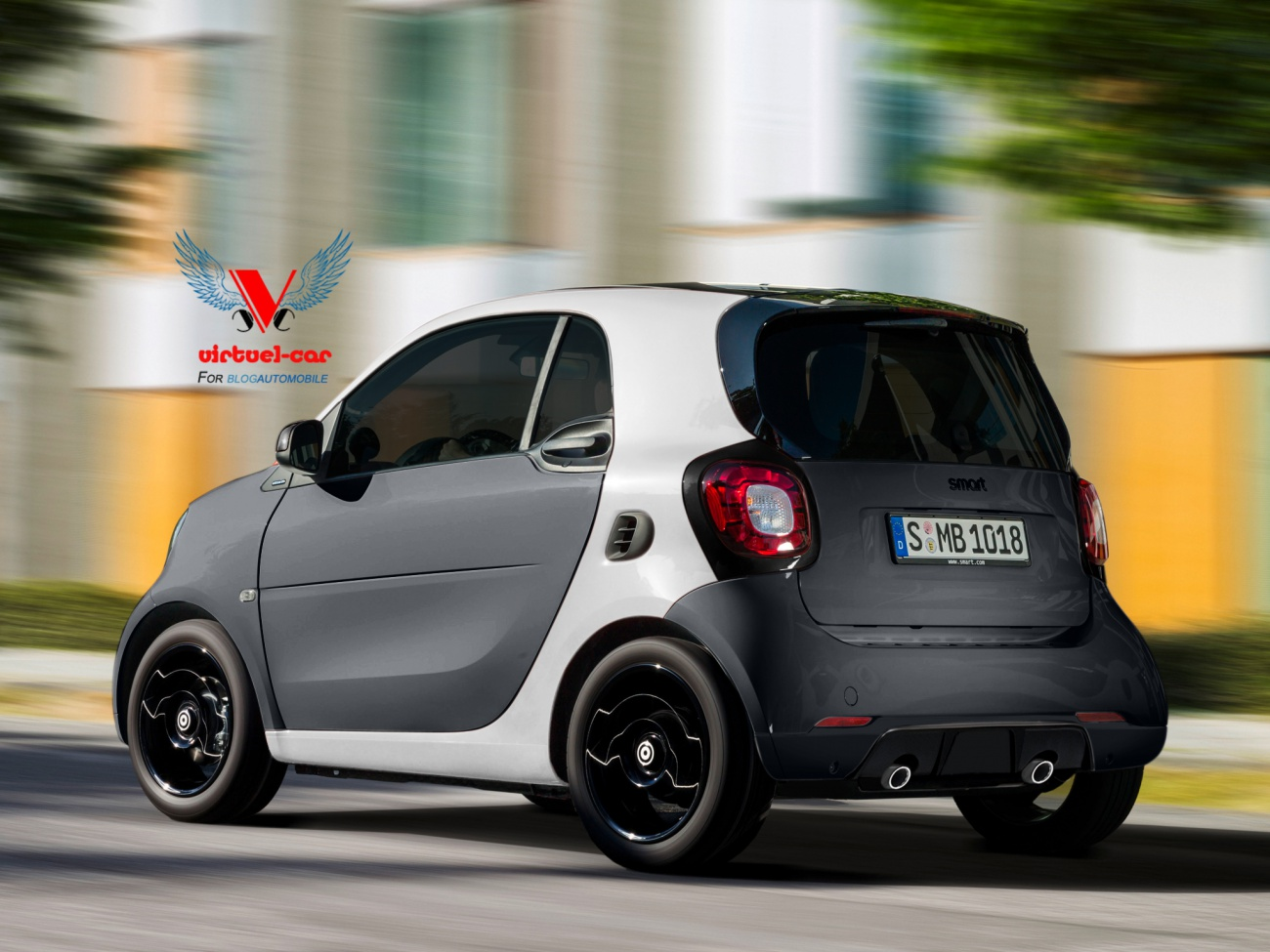 smart brabus 2015 en approche blog automobile. Black Bedroom Furniture Sets. Home Design Ideas