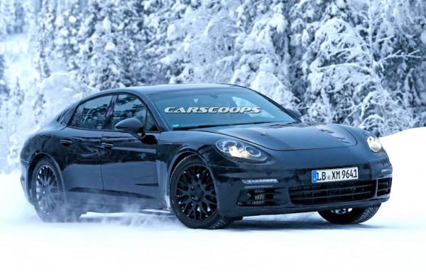 La nouvelle Porsche Panamera