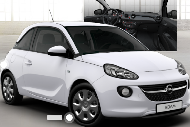 l 39 opel adam la petite incomprise blog automobile. Black Bedroom Furniture Sets. Home Design Ideas