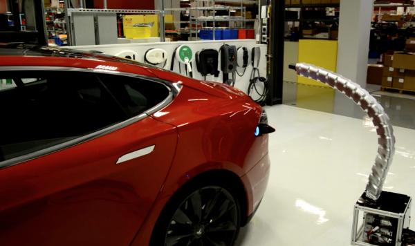Tesla Snake chargeur