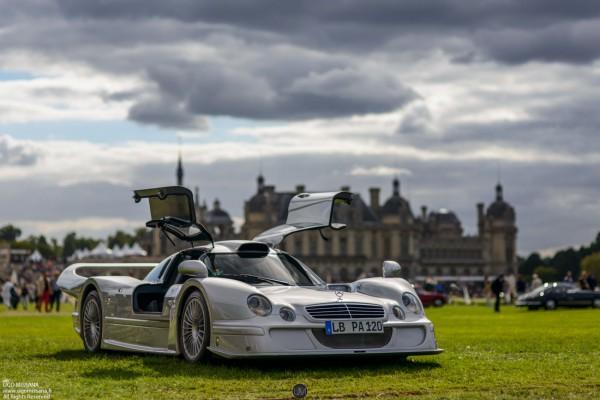 La superbe Mercedes-Benz CLK LM présentée au concours Chantilly Arts & Elégance.
