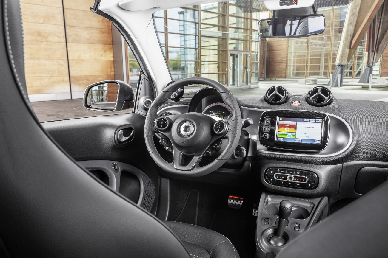 Essai smart fortwo cab 2015 blog automobile for Smart interieur