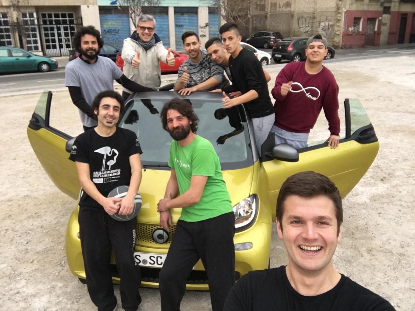 Smart Cabrio 2015 - passagers
