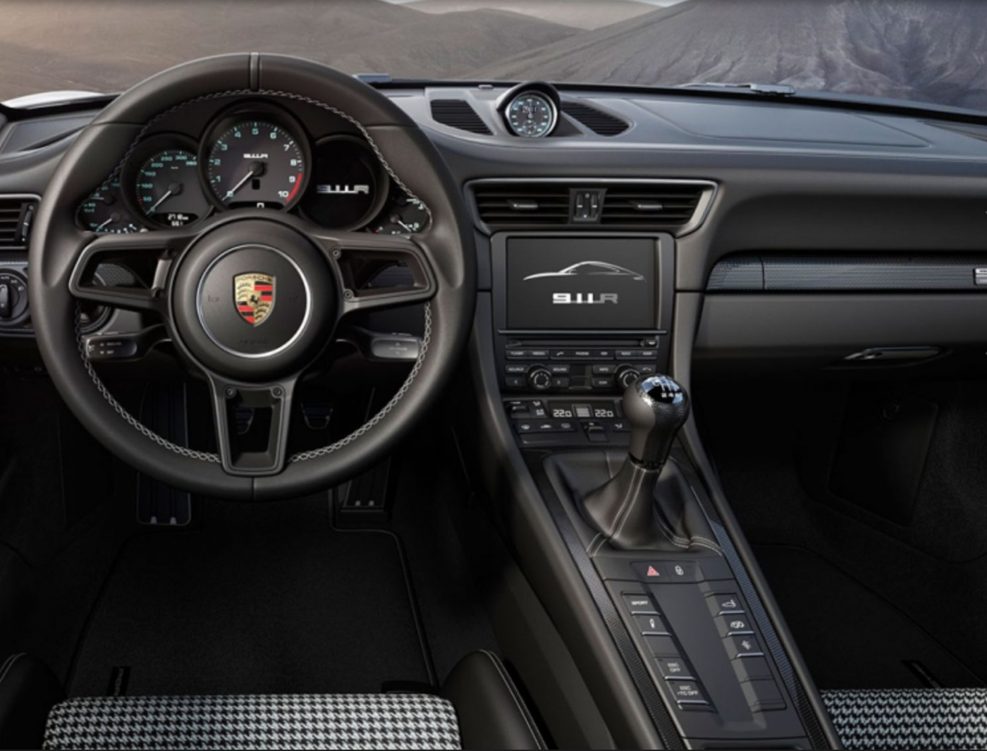Porsche 911r gggrrrrrrrrrr blog automobile for Porsche 918 interieur