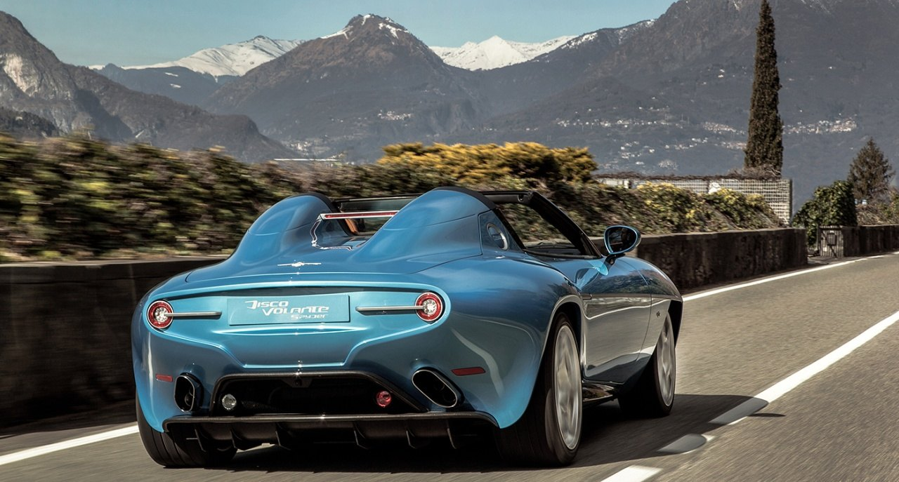 Touring Superleggera Disco Volante Spyder - 02