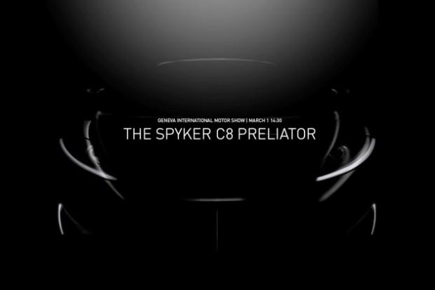 Spyker C8 Preliator Retour à Genève