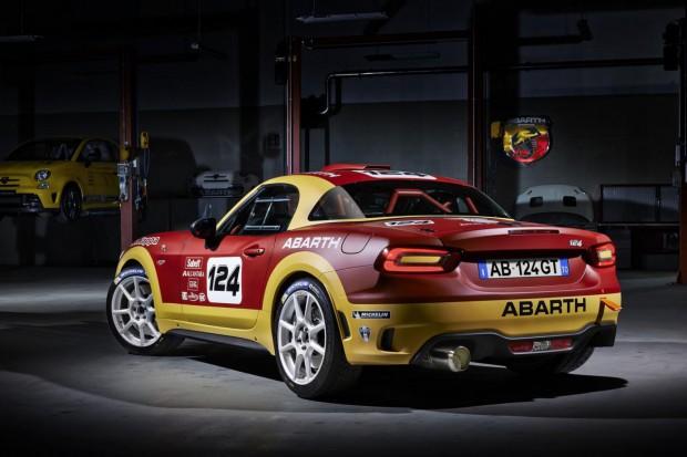 Abarth 124 Spider Rallye