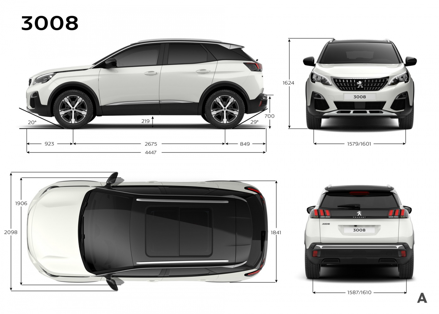 nouvelle peugeot 3008 au carr blog automobile. Black Bedroom Furniture Sets. Home Design Ideas