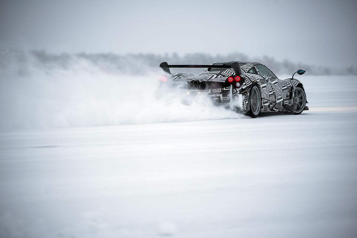 Huayra BC neige - 05