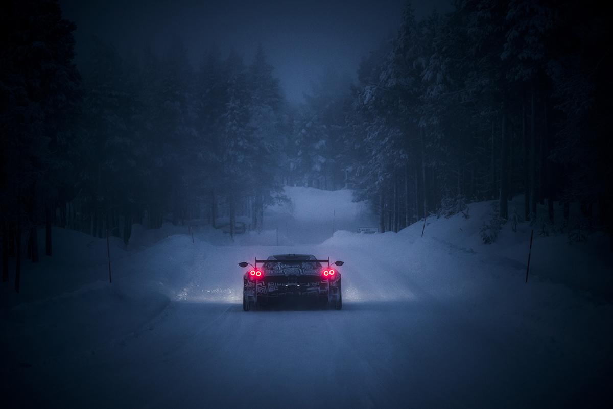 Huayra BC neige - 07