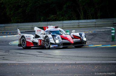 Toyota N°5 - Mans 2016