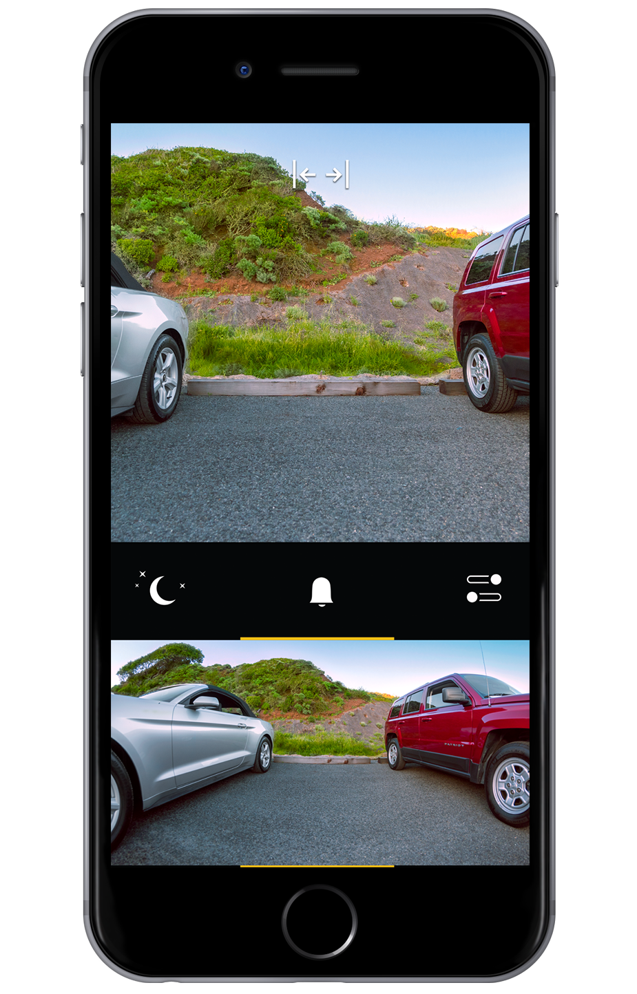Pearl Rearvision smartphone