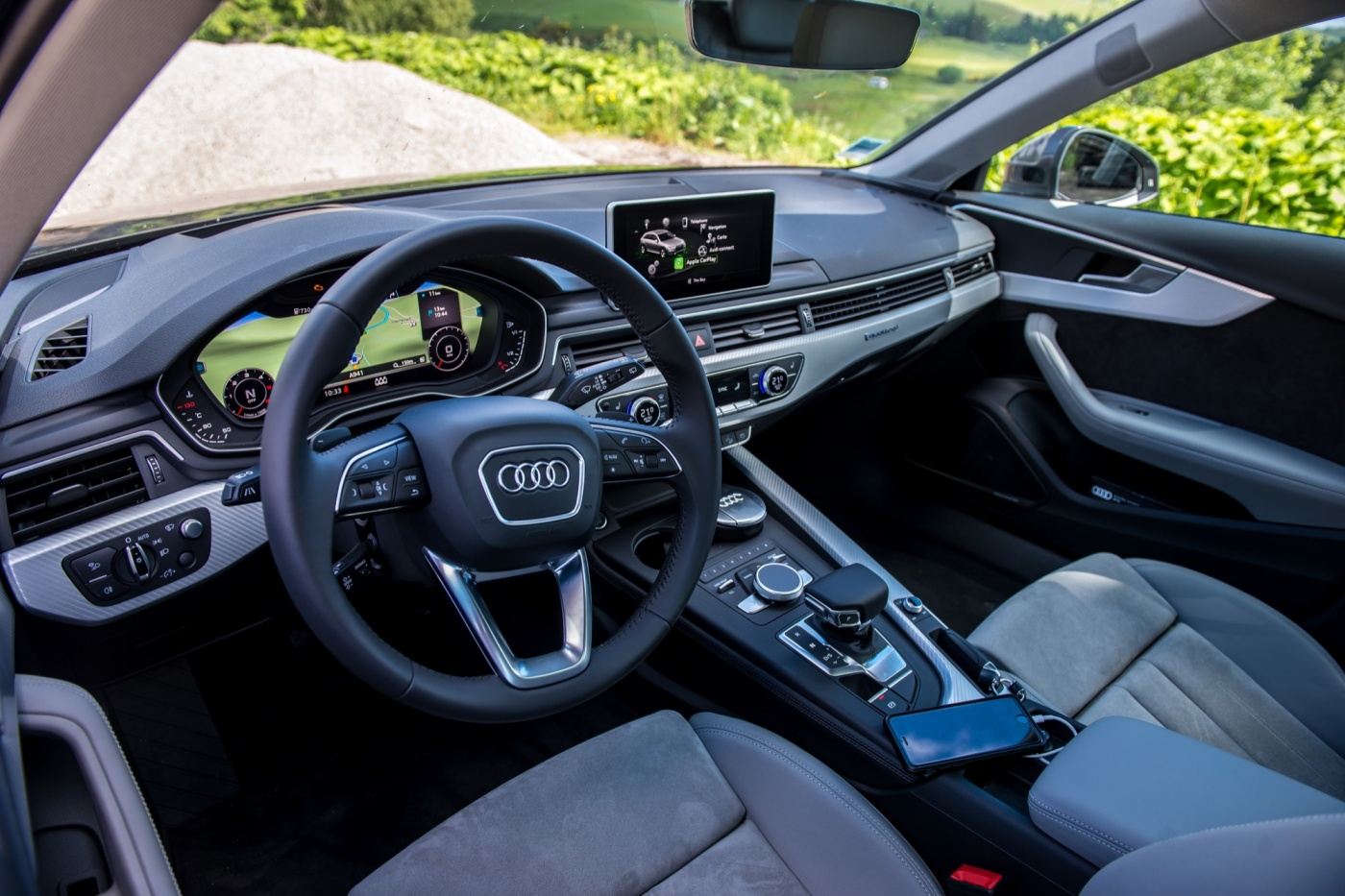 Audi a4 allroad sur les routes d 39 ecosse blog automobile for Interieur audi a4