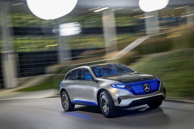 Mercedes-Benz EQ, annonciateur d'une gamme 100% électrique au sein de la marque